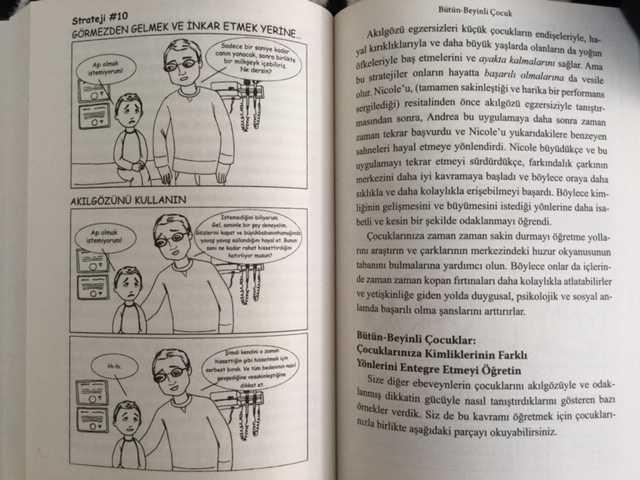 Beynin Güçlenmesi İçin Stratejiler: Bütün Beyinli Çocuk Kitabı