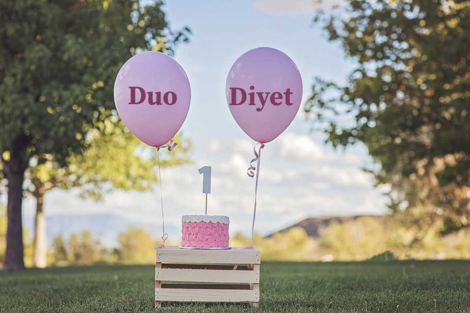 Duo Diyet Bloğu 1 Yaşında... En Özgün Kategorim Sev-en 7
