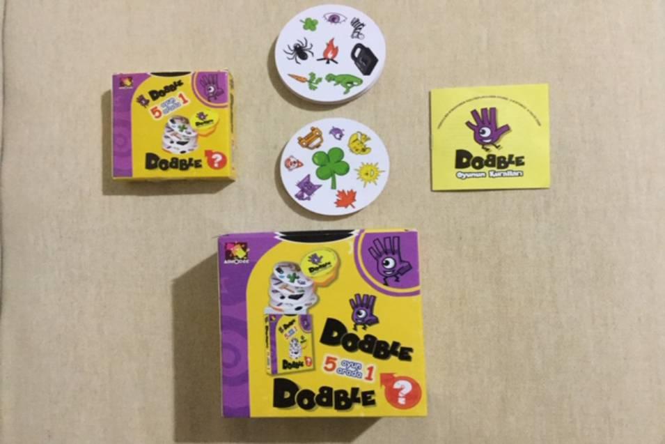 Dobble Oyun Refleks ve Dikkat Geliştiren Kutu Oyunu